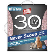 Simple Solution 30-Day Cat Litter, 15 lb