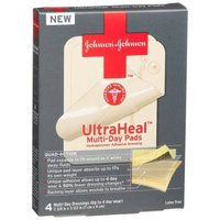 J j Red Cross J&J Red Cross Ultraheal Multi-Day Pads, 4-Count Boxes