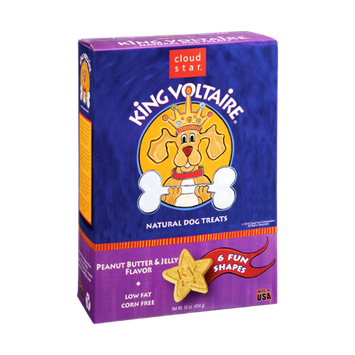 Cloud Star King Voltaire Peanut Butter & Jelly Flavor Natural Dog Treats