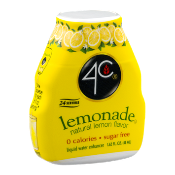 4C Lemonade Liquid Water Enhancer