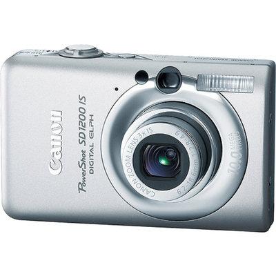 Canon PowerShot SD1200-IS Light Gray 10.0MP Digital ELPH Camera w/ 2.5