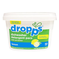 Dropps Dishwasher Detergent Pacs, Lemon