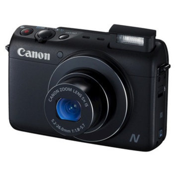 Canon PowerShot N100 12.1MP Digital Camera with 5X Optical Zoom -