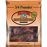 World Kitchens Brown Sugar Beef Jerky, 12-Ounce Bag