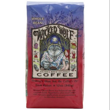 Ravens Brew Coffee Raven's Brew Coffee - Wicked Wolf Organic Whole Bean Coffee - 12 oz.