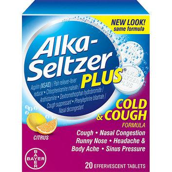 Alka-Seltzer Plus: Citrus Cold & Cough Formula