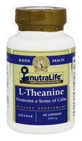 Nutralife - L-Theanine 200 mg. - 60 Capsules