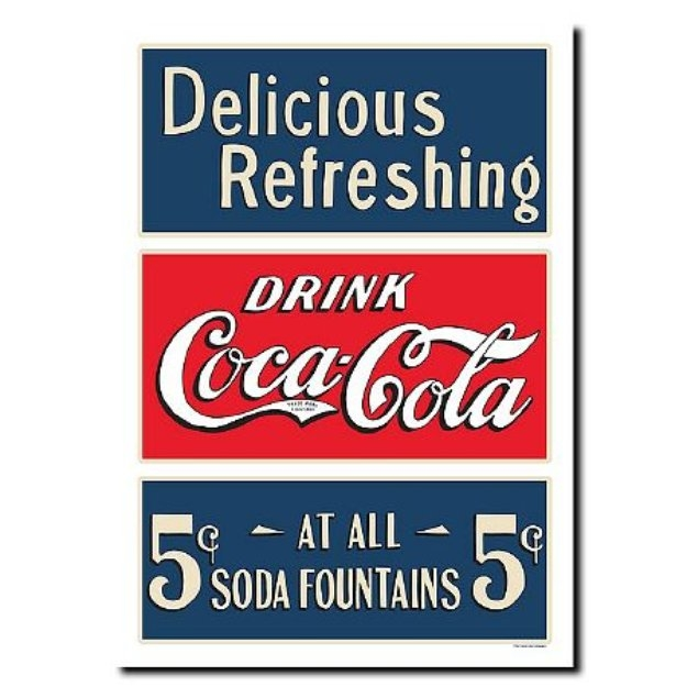 Trademark Global Soda Fountain Stretched Canvas Art - 18 x 24 Inches