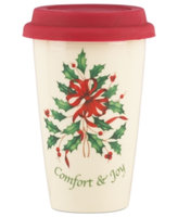 Lenox Holiday Comfort & Joy Travel Mug