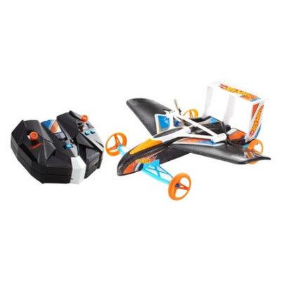 Hot Wheels Street Hawk Remote Control Flying Car, Orange/Blue