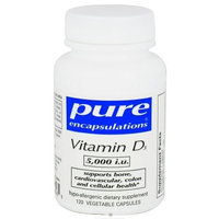 Pure Encapsulations - Vitamin D3 5,000 i.u. - 60 Health and Beauty