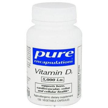 Pure Encapsulations - Vitamin D3 5,000 i.u. - 60 Health and Beauty