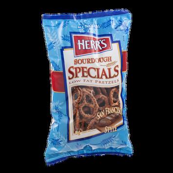 Herr's® Sourdough Specials Low Fat Pretzels San Francisco Style