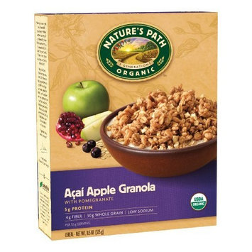 Nature's Path Organic Acai Apple Granola with Pomegranate, 11.5-Ounce Boxes, (Pack of 4)