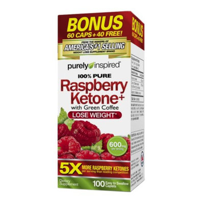 Purely Inspired 100% Pure Raspberry Ketones+, Tablets