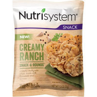 Nutrisystem Creamy Ranch Snack-A-Rounds, 1.2 oz, (Pack of 8)