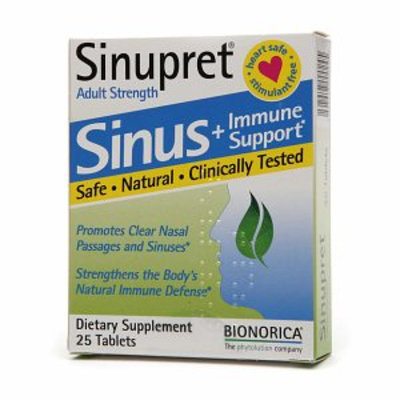 Sinupret Sinus Plus Immune Support Adult Strength Tablets