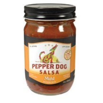 Pepper Dog Mild Salsa 12 oz. (Pack of 6)