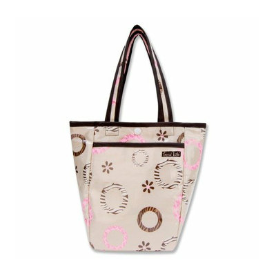Trend Lab Sweet Safari Tote Diaper Bag