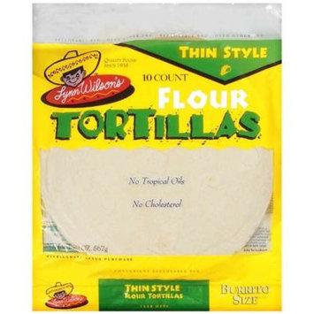 Lynn Wilson's Thin Style Flour Tortillas, 20 oz