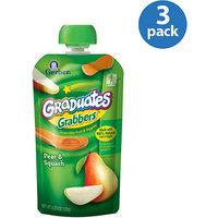 Gerber Graduates Grabbers Pear & Squash Squeezable Fruit & Veggies