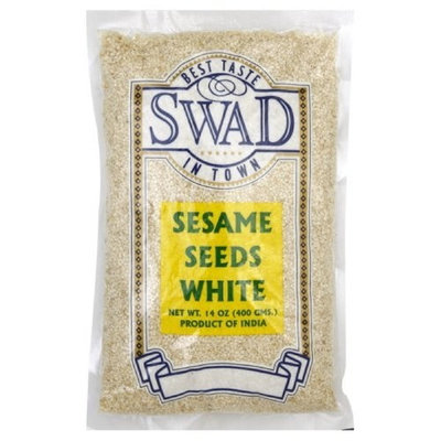 Swad Sesame Seeds White, 14-Ounce (Pack of 10)