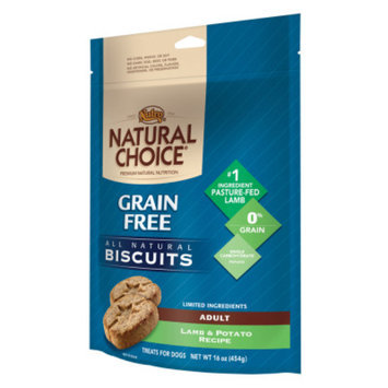 Nutro Natural Choice NUTROA NATURAL CHOICEA Grain Free Adult Dog Biscuits