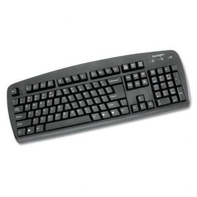 Kmart.com Kensington Comfort Type USB Keyboard, 104 Keys, Black
