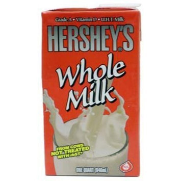 Hershey's Whole Milk 1 Qt (Pack of 12)