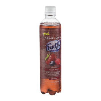 Fruit2O Flavored Sparkling Water Beverage Mixed Berry