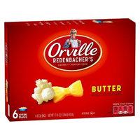 Orville Redenbacher's Butter Microwave Popcorn 6 pk