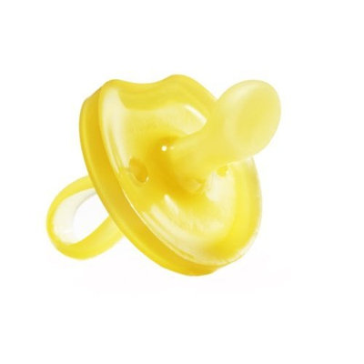 Natursutten BPA Free Natural Rubber Pacifier, Butterfly Orthodontic, 6 - 12 Months