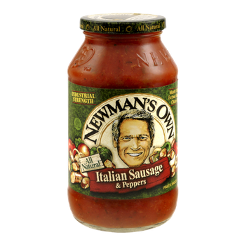 Newman's Own All Natural Italian Sausage & Peppers Pasta Sauce