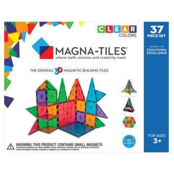 Magna-Tiles Clear Colors 37 Piece Set