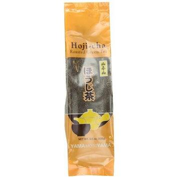 Yamamotoyama Loose Hoji-Cha Roasted Green Tea, 3.5-Ounce Bags (Pack of 6)