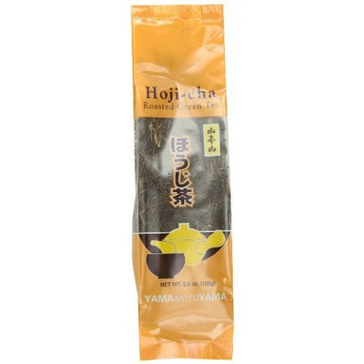 Yamamotoyama Loose Hoji-Cha Roasted Green Tea, 3.5-Ounce Bags (Pack of 6)