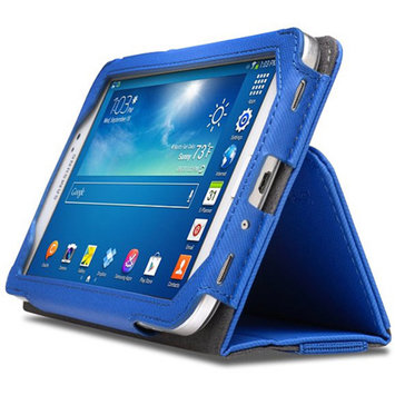 Kensington Portofolio Soft Folio Case - Protective case for tablet - blue - for Samsung Galaxy Tab 3 (7 in)