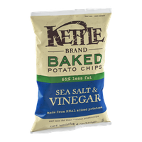 Kettle Brand® Baked Potato Chips 65% Less Fat Sea Salt & Vinegar