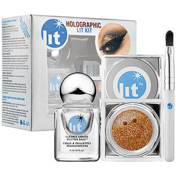 Slide: Lit Cosmetics Holographic Lit Kit Rich and Famous