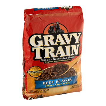 Gravy Train Dog Food Beef Flavor