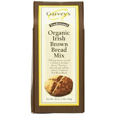 Garvey's Traditional Organic Irish Brown Bread Mix, 16-Ounce Packages (Pack of 5)