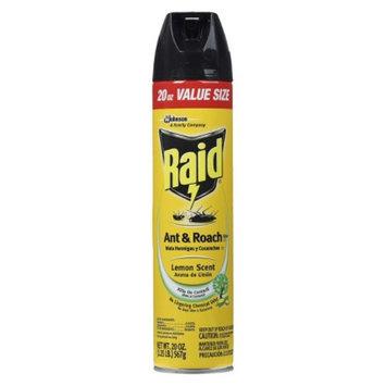Raid Ant & Cockroach Killer 17 Lemon Scent Spray 20 oz