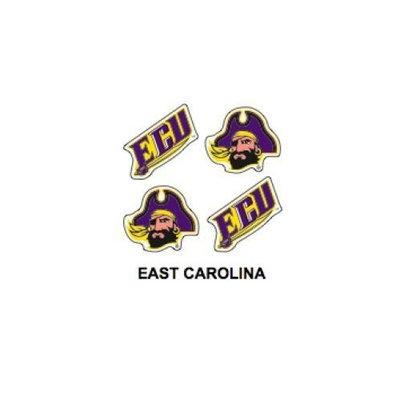 Innovative Adhesives BC-12 East Carolina Fan-A-Peel Temporary Tattoo-Sticker