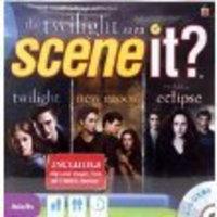 Mattel Scene It The Twilight Saga DVD Game