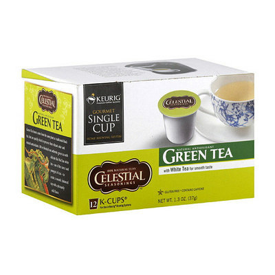 Green Mountain Coffee Roasters Celestial Seasonings Green Tea With White K-Cups