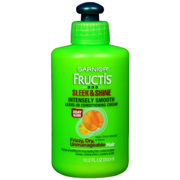 Garnier Fructis Style Sleek & Shine Intensely Smooth Leave-In Conditioning Cream
