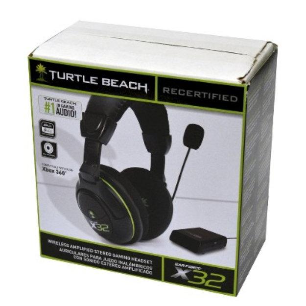 27a389cec5e Microsoft Turtle Beach Over-the-ear Headset Earforce X32 (Xbox 360) Reviews  2019