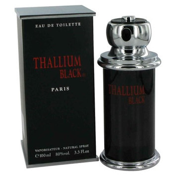 Yves De Sistelle Thallium Black By Jacques Evard Edt Spray 3.3 Oz