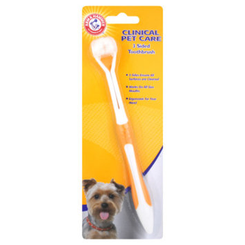 ARM & HAMMER™ Clinical Pet Care 3 Sided Dog Toothbrush