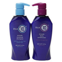 it's a 10 Miracle Moisture Shampoo & Miracle Daily Conditioner, 1 set